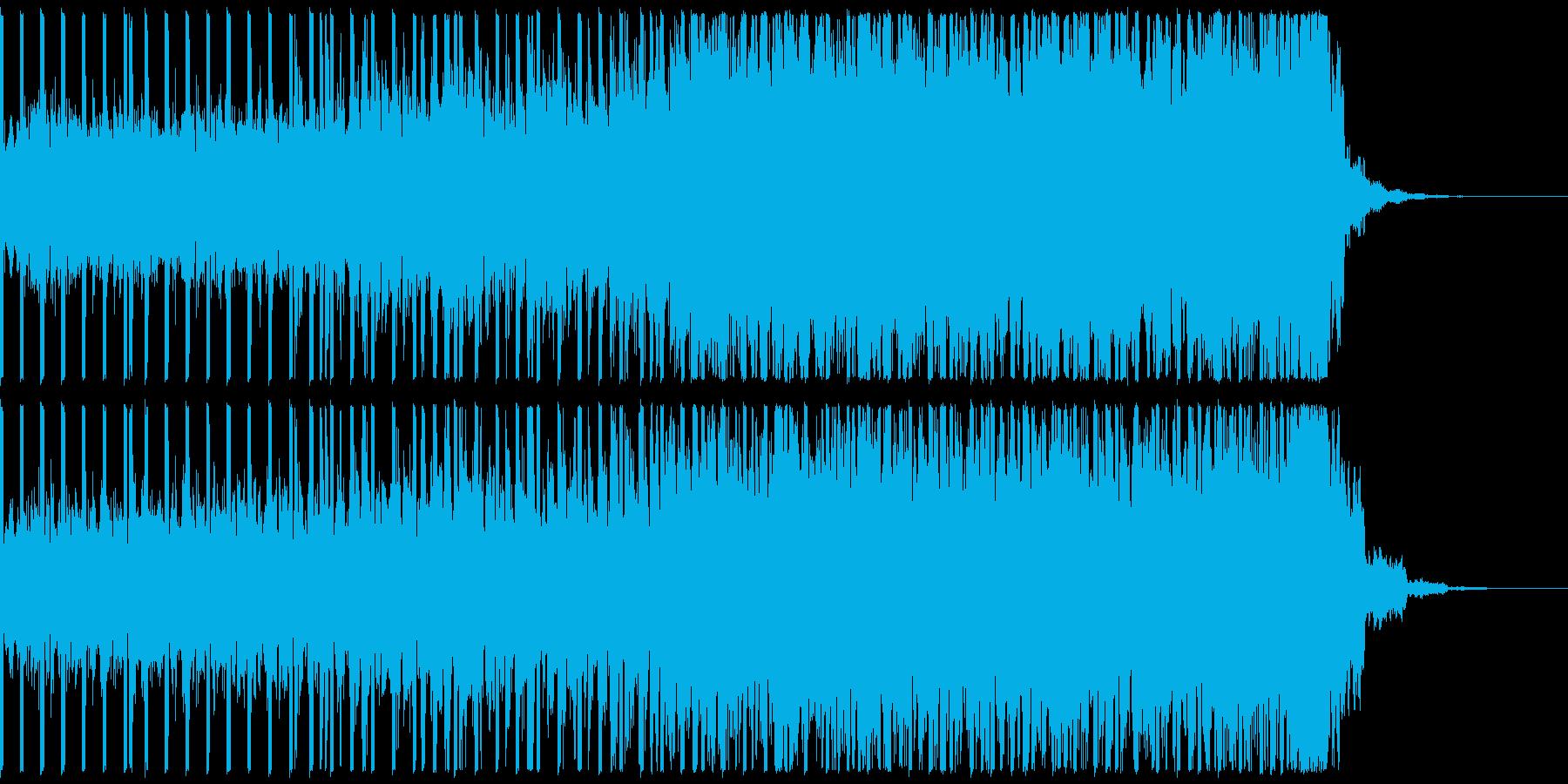 EDM、サイバー系ゲーム等、ショート②の再生済みの波形