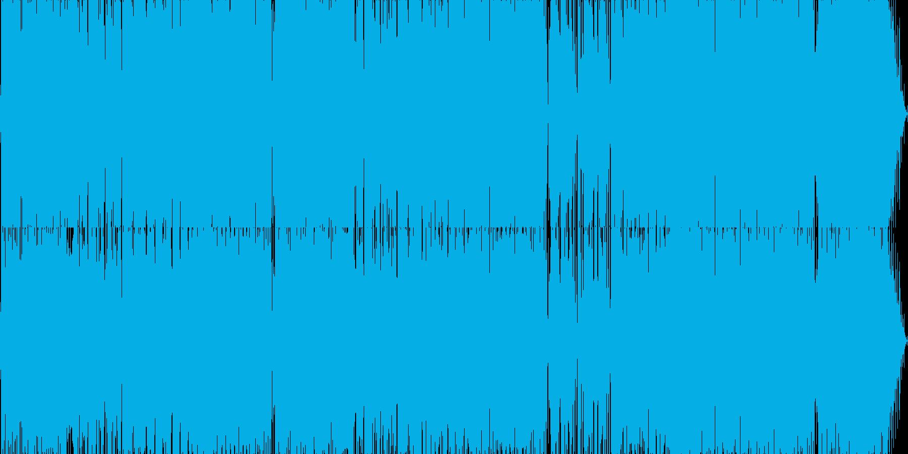 80年代の久保田利伸風なヒップホップ。…の再生済みの波形