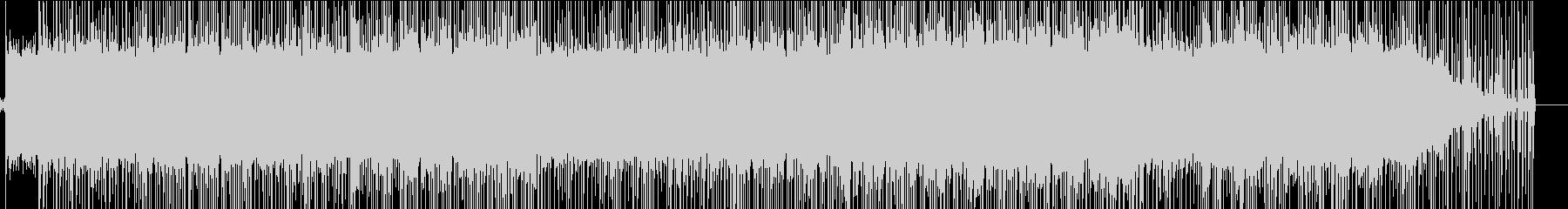 ギターのリフが印象的な大人BGMの未再生の波形