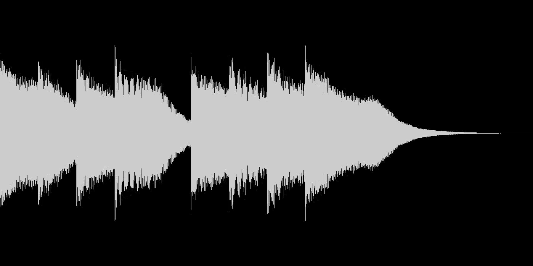 キンコンカンコン(学校のチャイム)の未再生の波形