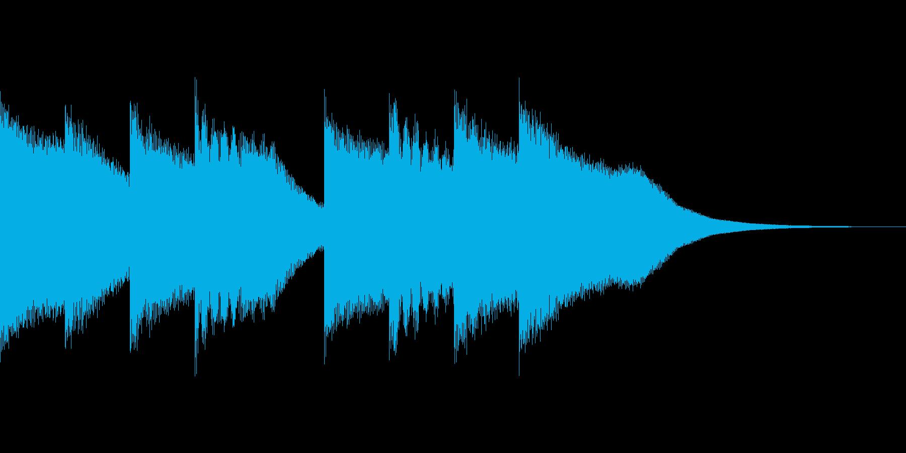 キンコンカンコン(学校のチャイム)の再生済みの波形