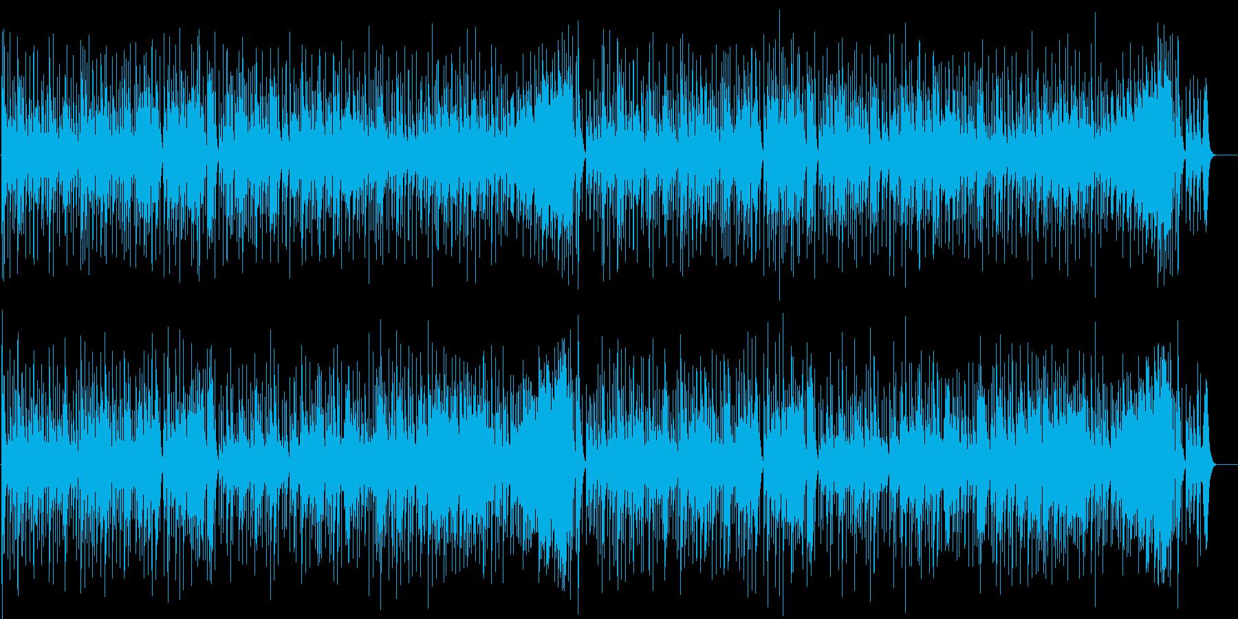 古き良き伝統を受け継いだ和風マイナー楽曲の再生済みの波形