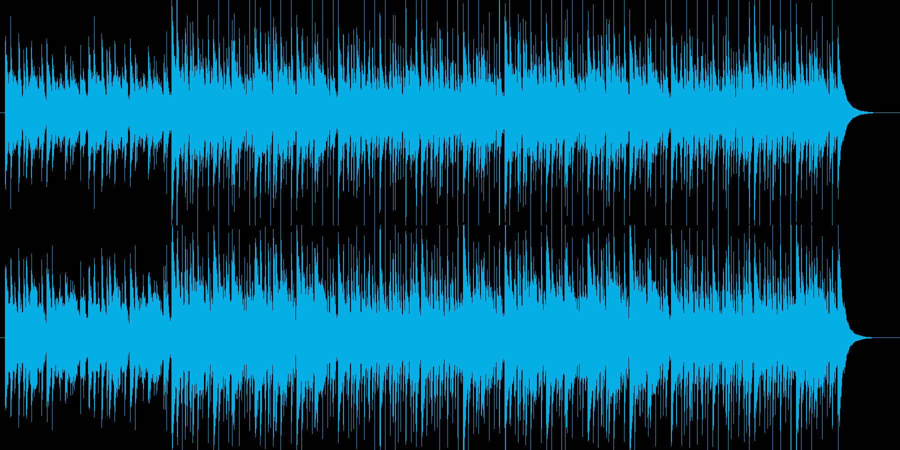 【ポップス ギター】爽やかなギターロックの再生済みの波形