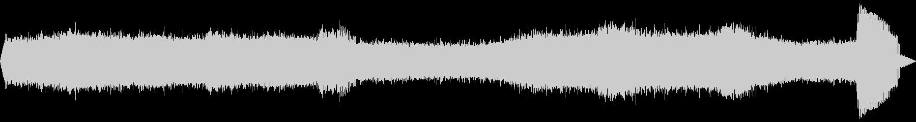 【自然音】蝉の鳴き声01の未再生の波形