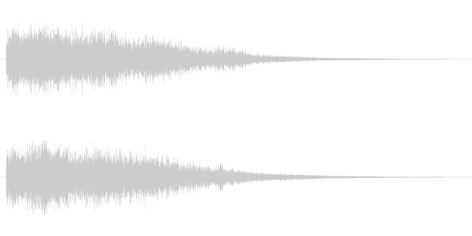 [シューン]スキルミス(残念な感じ)の未再生の波形