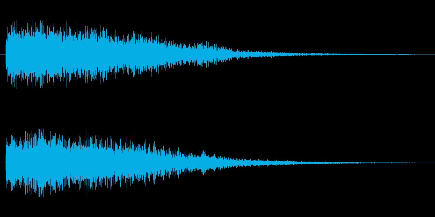 [シューン]スキルミス(残念な感じ)の再生済みの波形