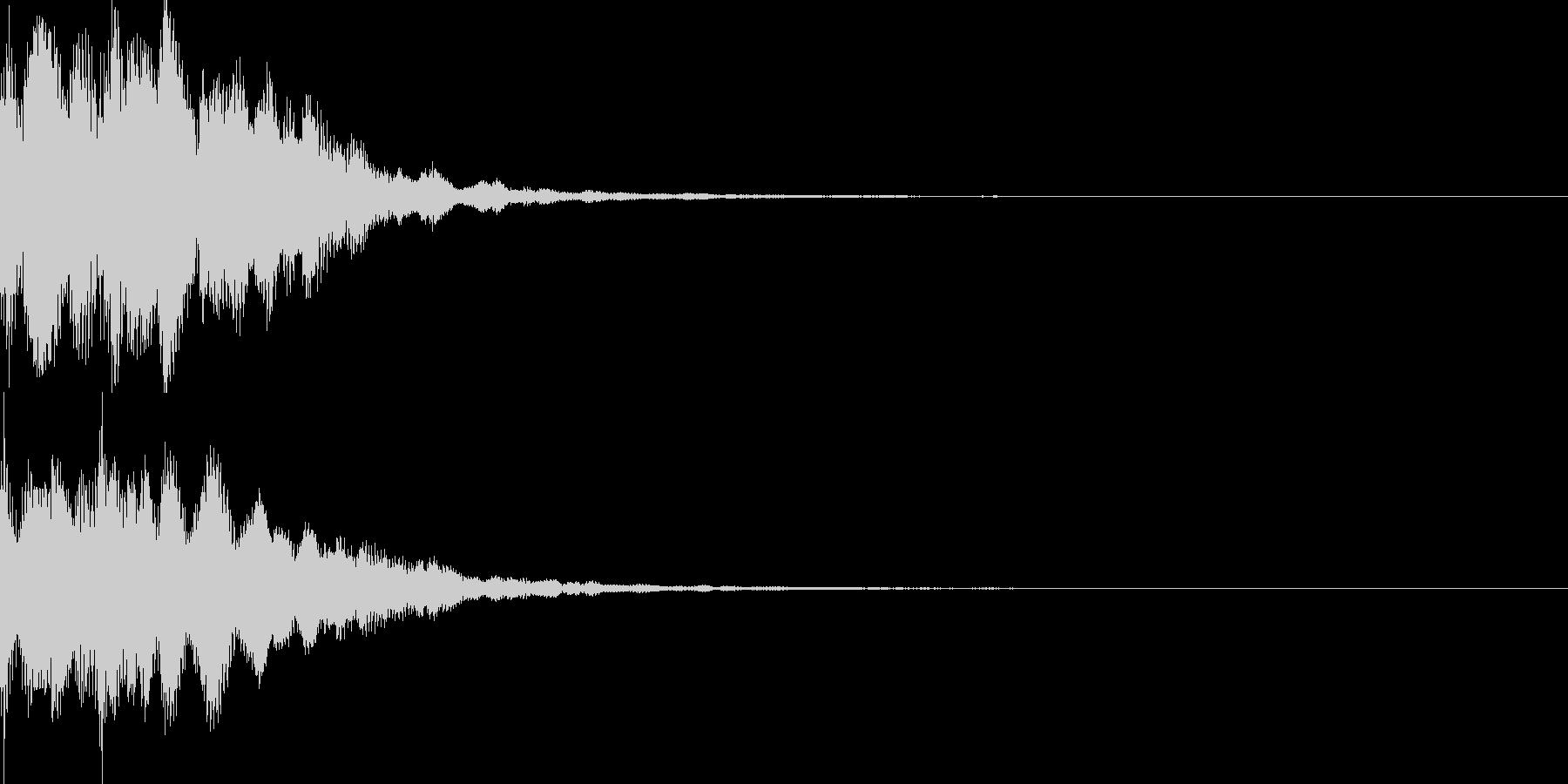 サウンドロゴ46_シンセの未再生の波形