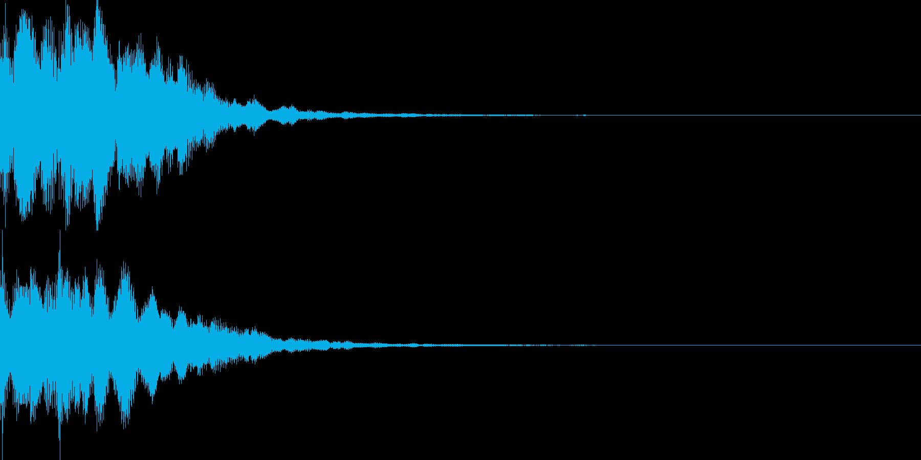 サウンドロゴ46_シンセの再生済みの波形