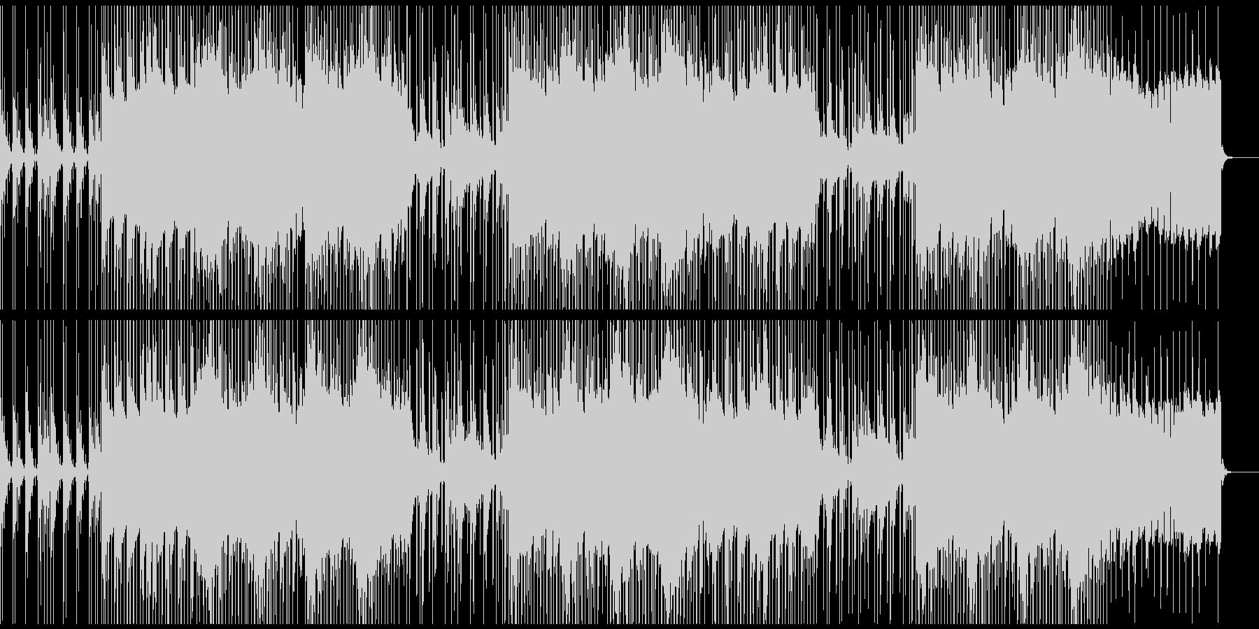 お洒落な癒し系のチルハウスBGMの未再生の波形