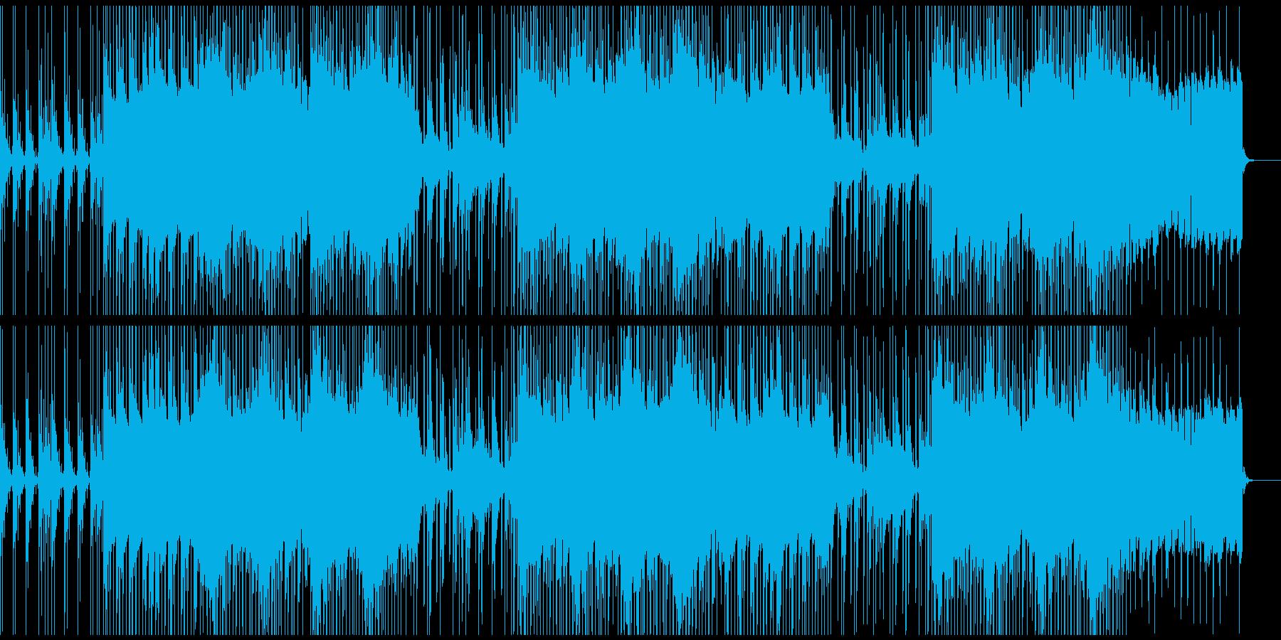 お洒落な癒し系のチルハウスBGMの再生済みの波形