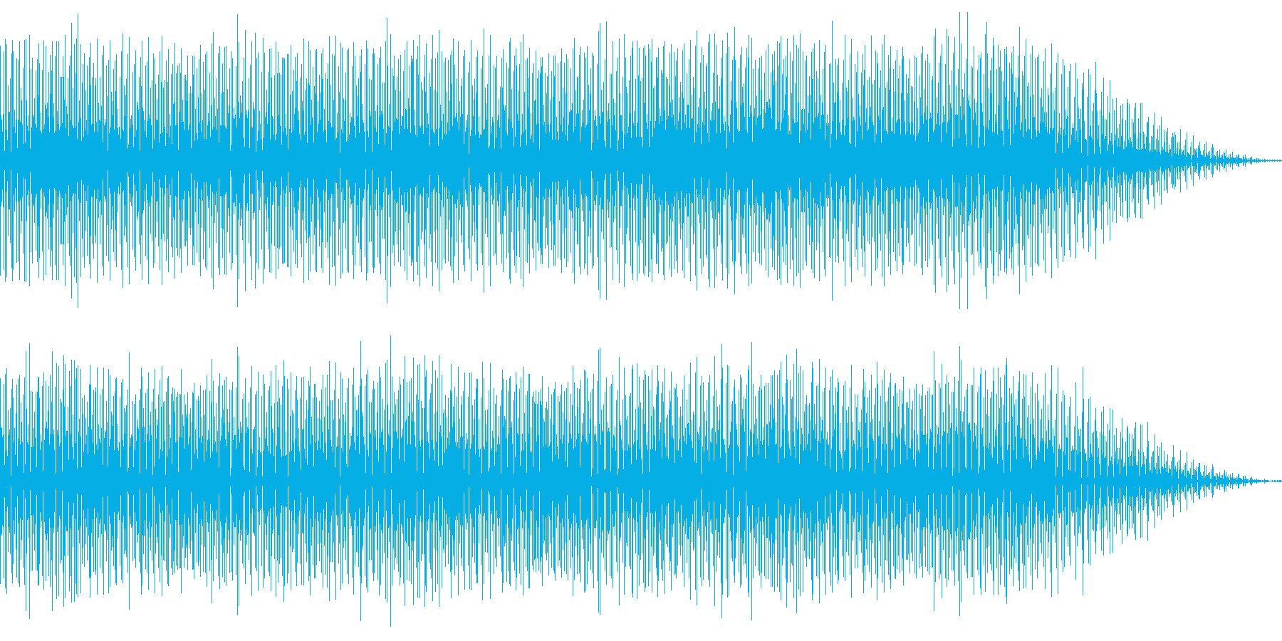 カントリー風のスライドギターの楽曲の再生済みの波形