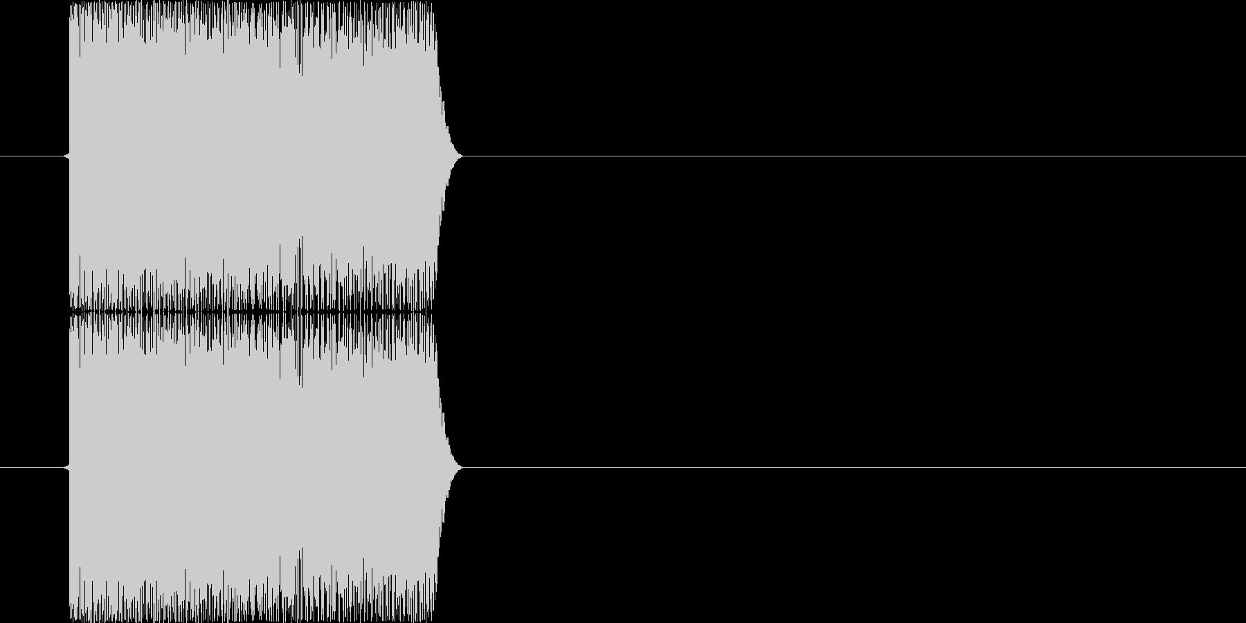 ピロリロ(パソコン、シャットダウン)の未再生の波形