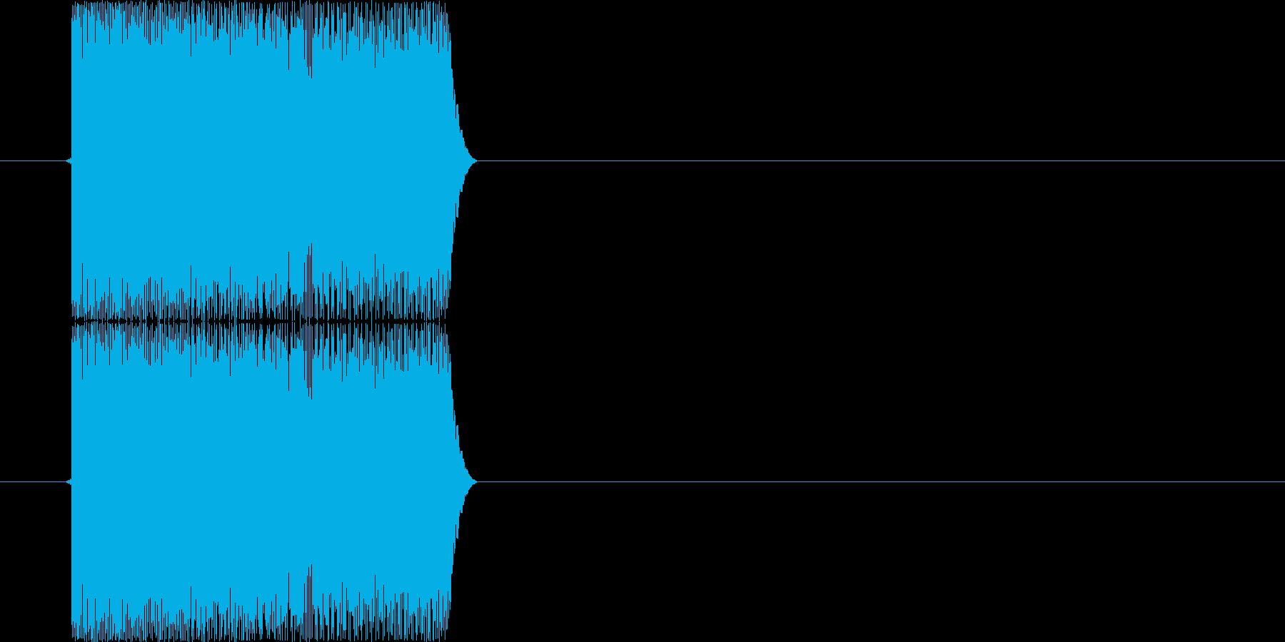 ピロリロ(パソコン、シャットダウン)の再生済みの波形