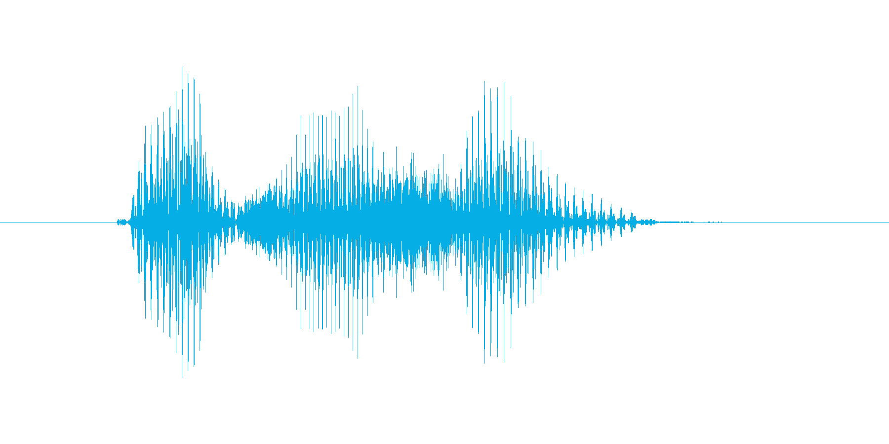 ポジションの再生済みの波形