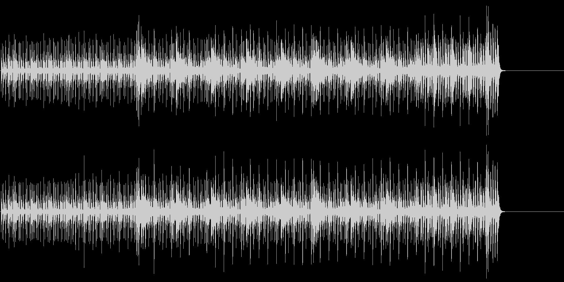 パーカッシヴでタイトなサウンドの未再生の波形