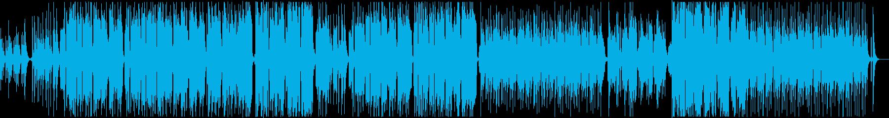 ウクレレ弾き語りのやさしいバラードの再生済みの波形