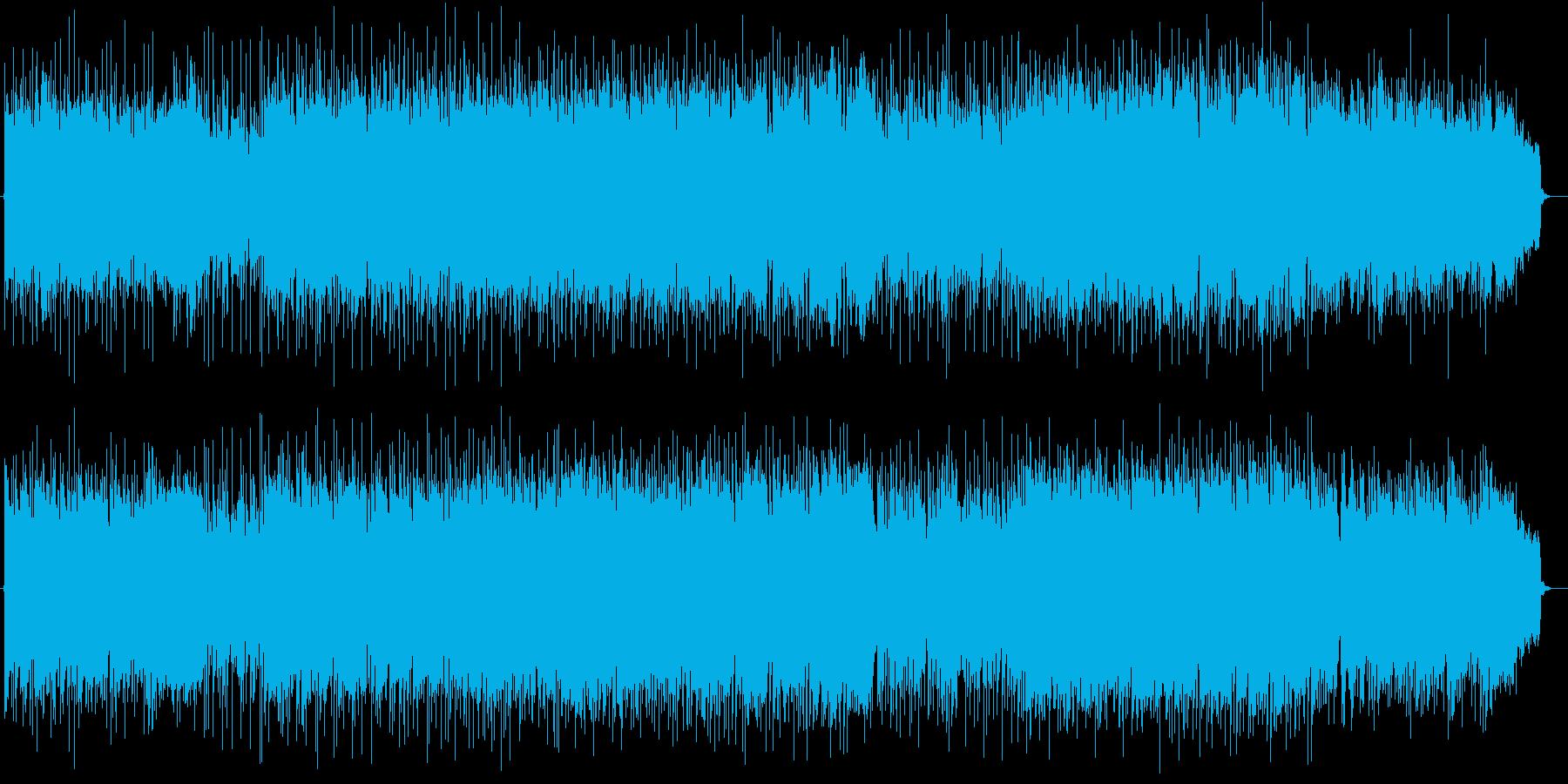 明るくて激しいフュージョンポップスの再生済みの波形