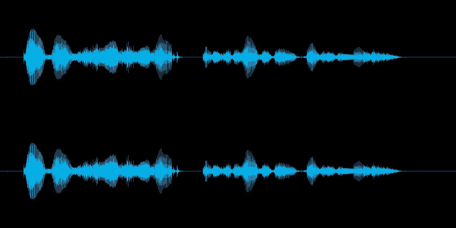 【時報・時間】午後10時を、お知らせい…の再生済みの波形
