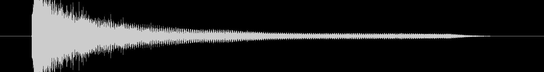 ビィィイーンの未再生の波形