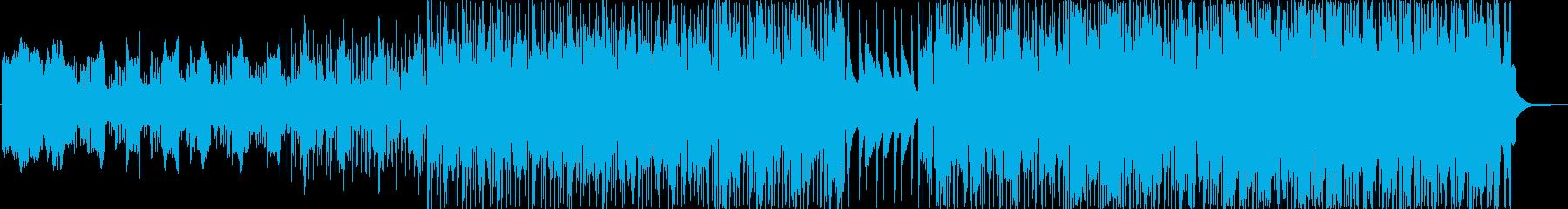 懐かしいオルガンサウンドと抑えめのビートの再生済みの波形