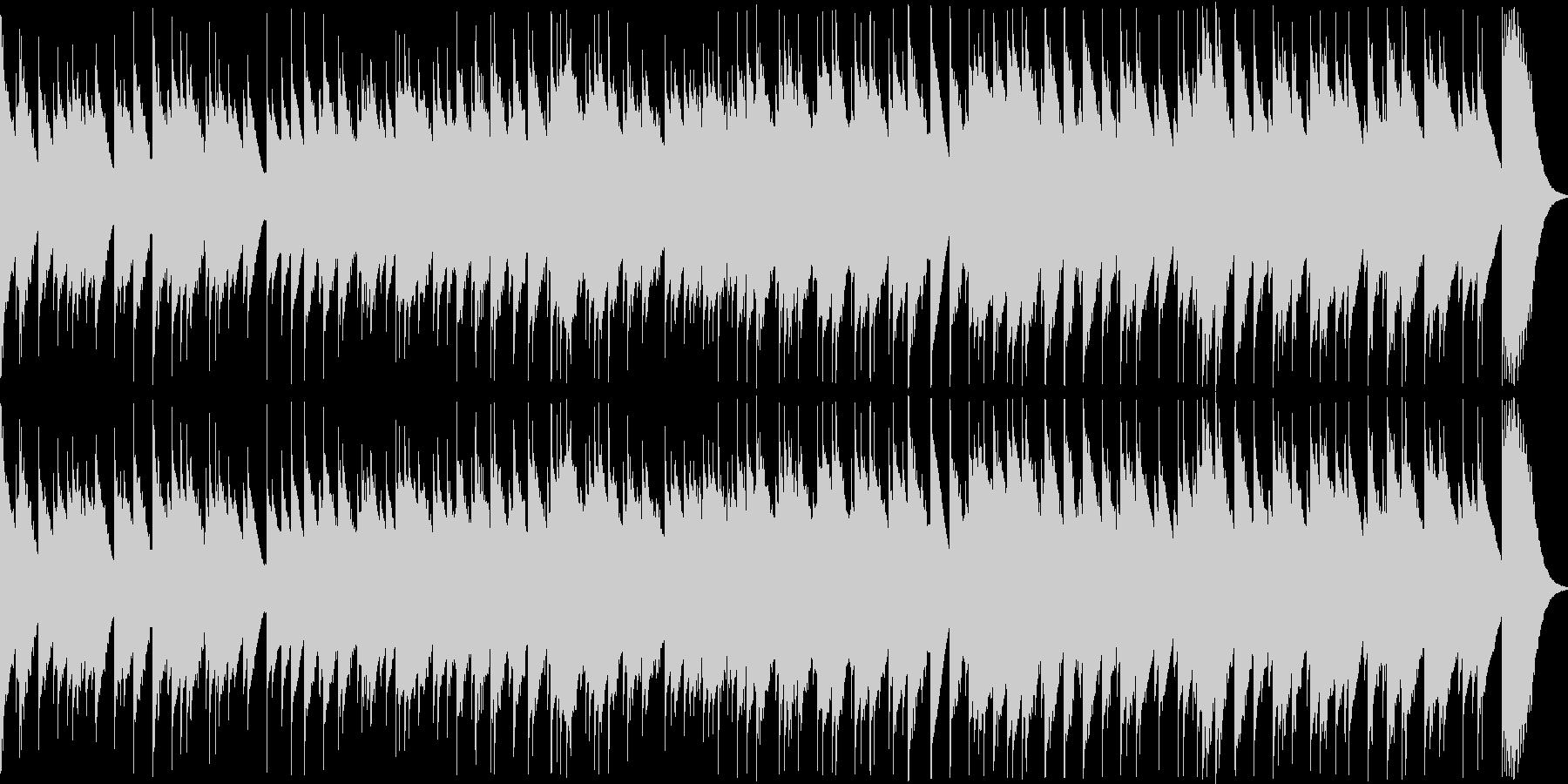 哀愁を感じさせる切ない8bit音源曲の未再生の波形