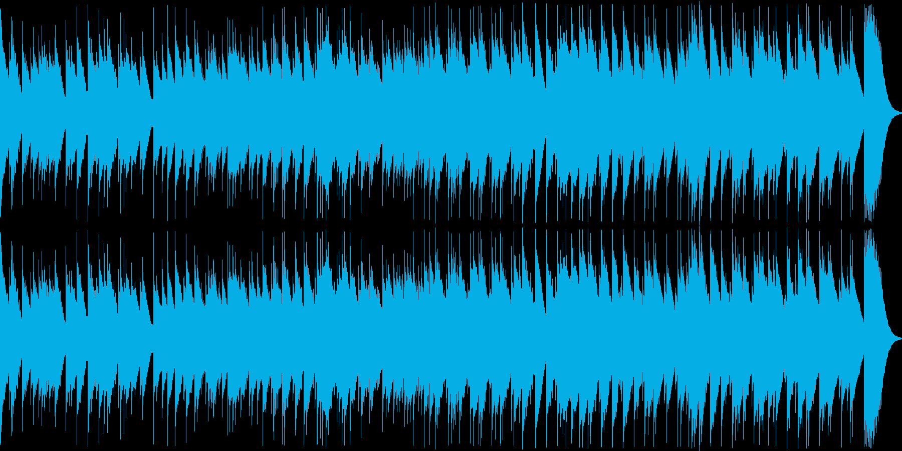 哀愁を感じさせる切ない8bit音源曲の再生済みの波形