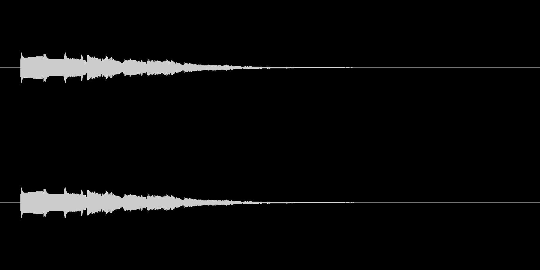 【ショートブリッジ26-2】の未再生の波形