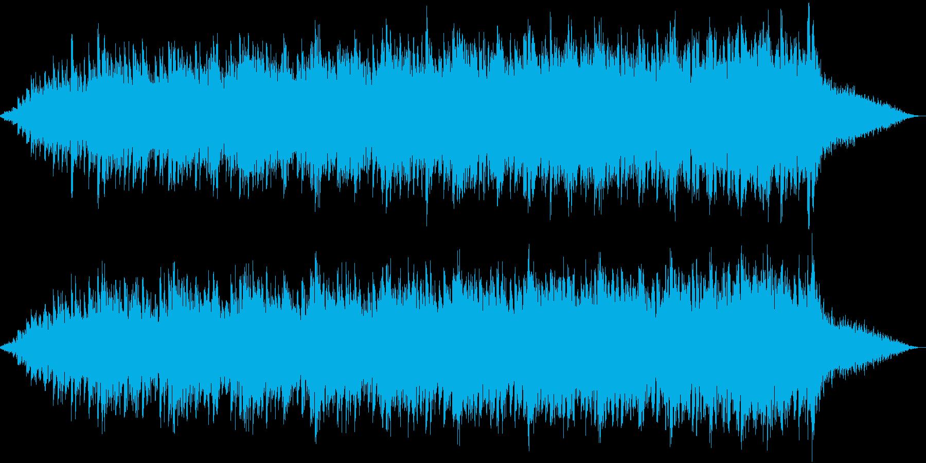 眠りを誘う長いループの再生済みの波形