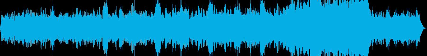 低音重視のとりあえず気味悪い曲の再生済みの波形