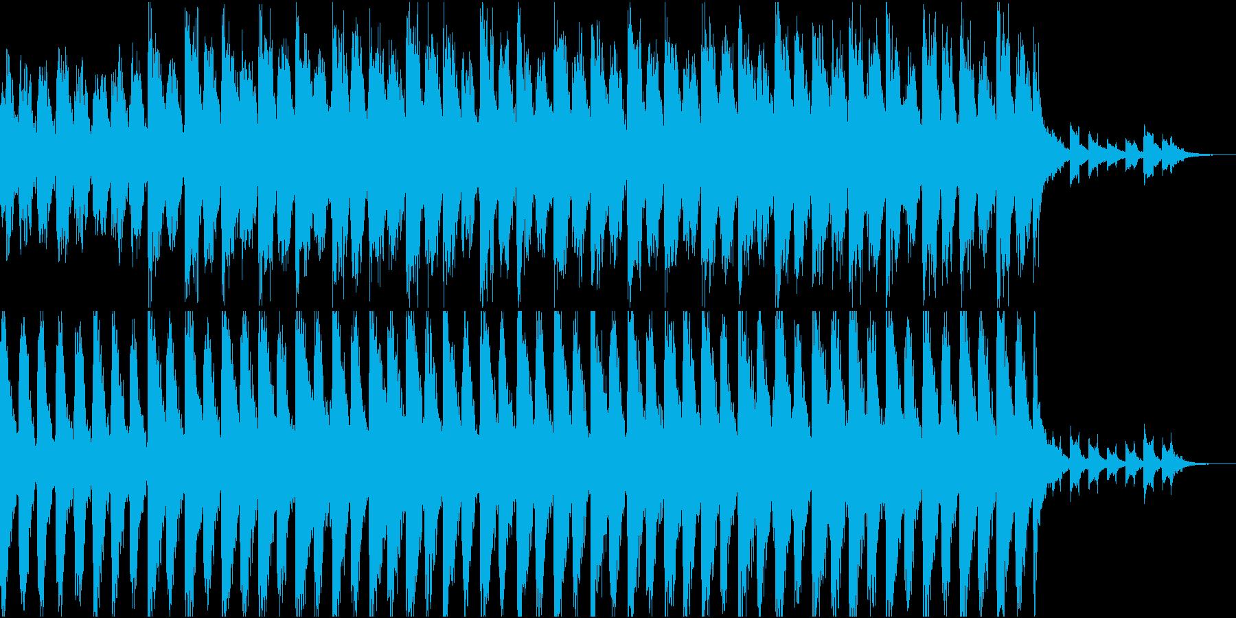 文明崩壊後の世界に一人残された系のBGMの再生済みの波形
