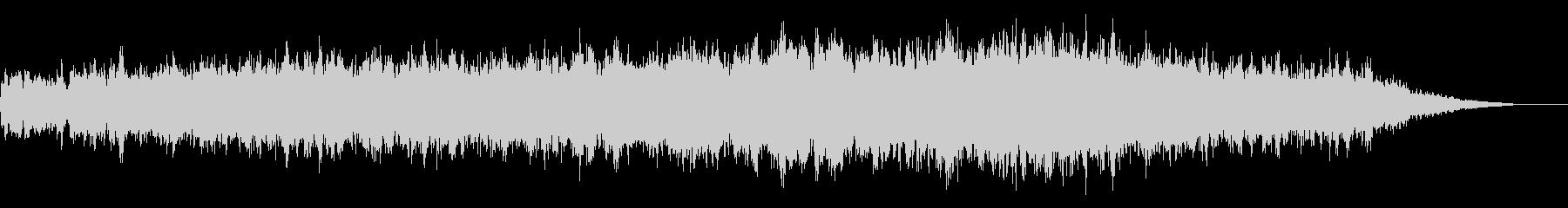 ホラー映画に出てきそうなノイズ系音源14の未再生の波形