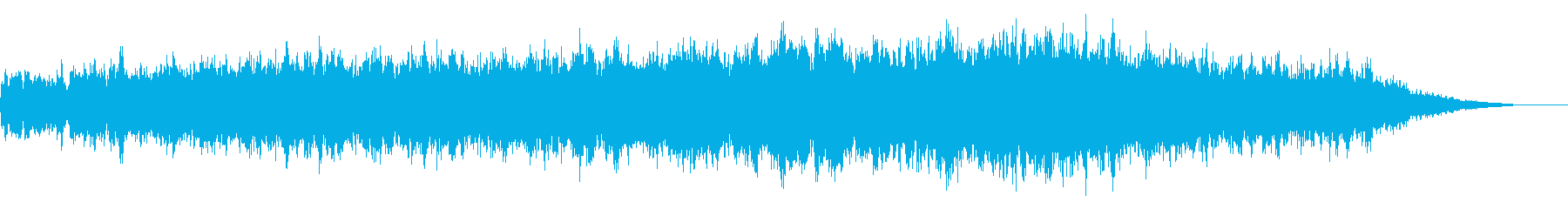 ホラー映画に出てきそうなノイズ系音源14の再生済みの波形
