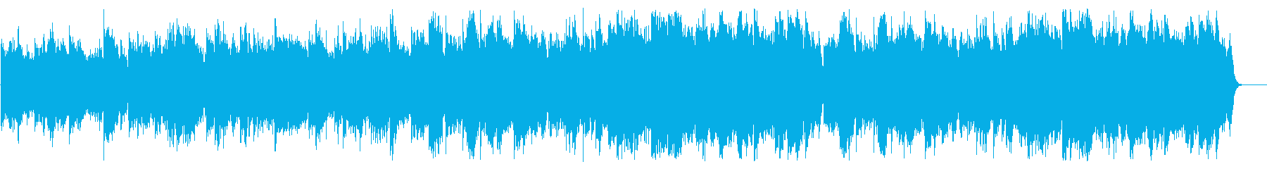 「G線上のアリア」をヒーリングアレンジでの再生済みの波形