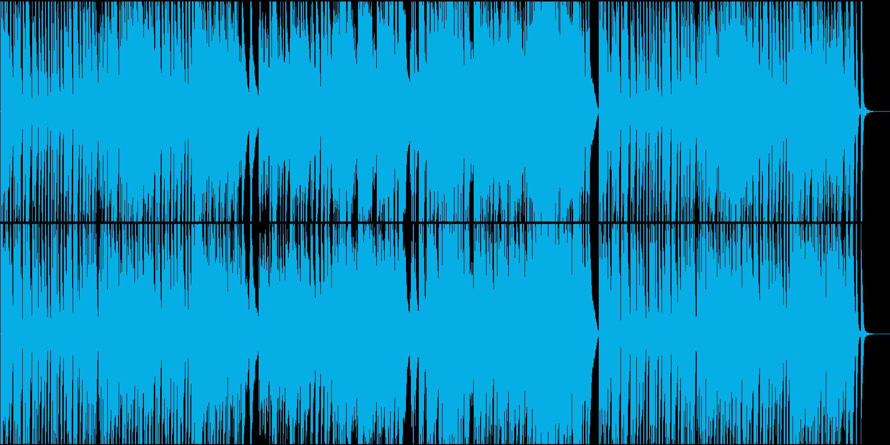 映像、舞台等のBGMにの再生済みの波形
