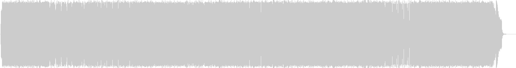 ピアノ・ストリングの和風な曲の未再生の波形