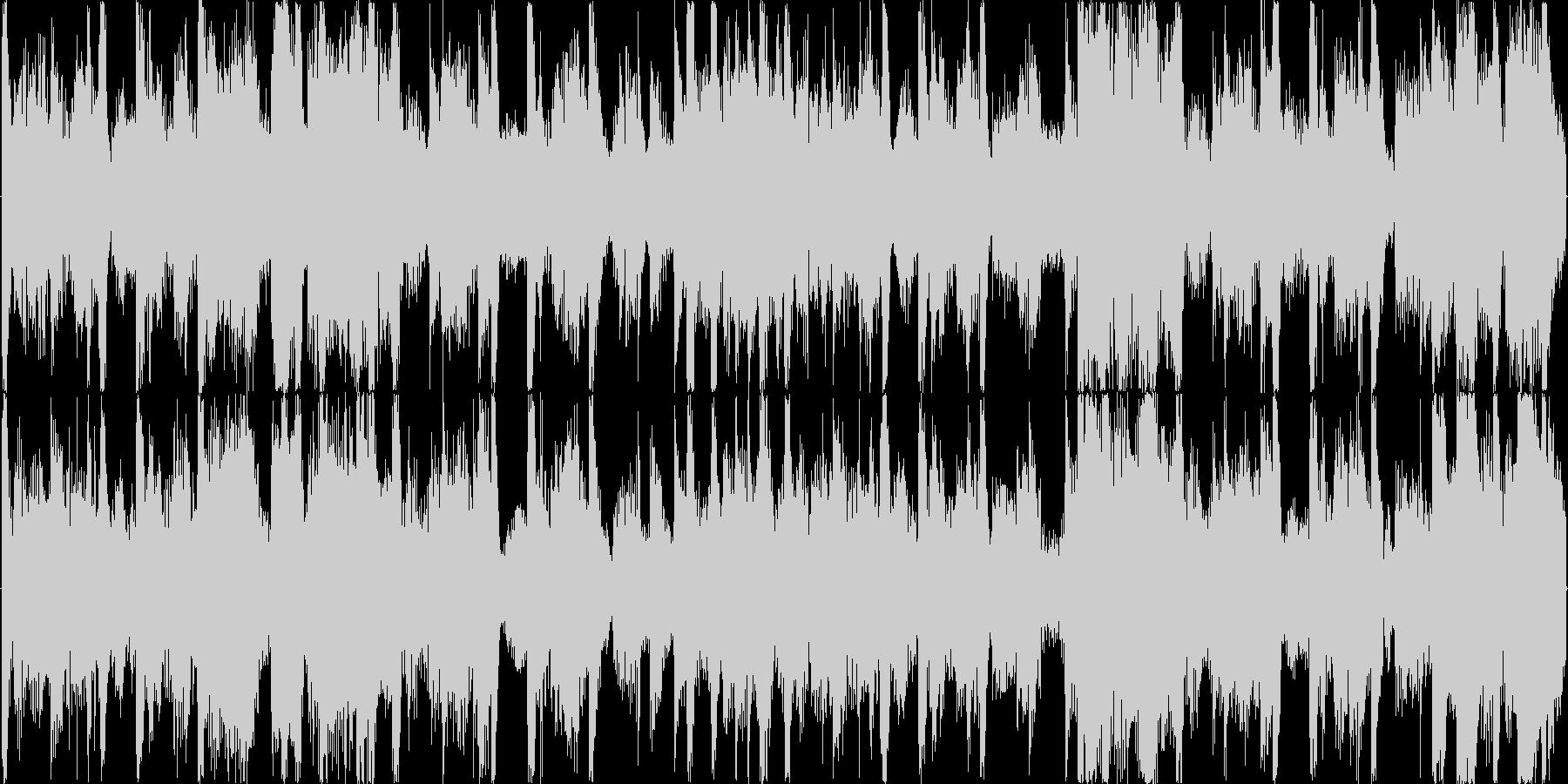 明るめで少し大人っぽい雰囲気の楽曲です。の未再生の波形