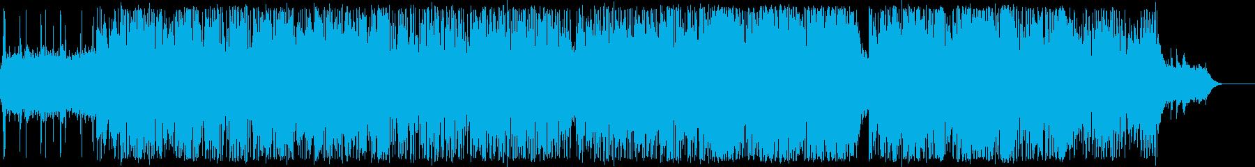 スペイシーなジャズ/ドラムンベースの再生済みの波形