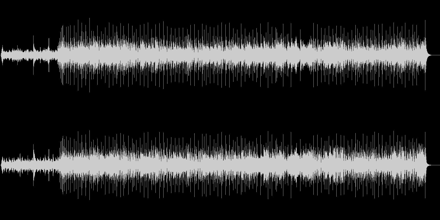 ノスタルジックなミディアム8ビートの未再生の波形
