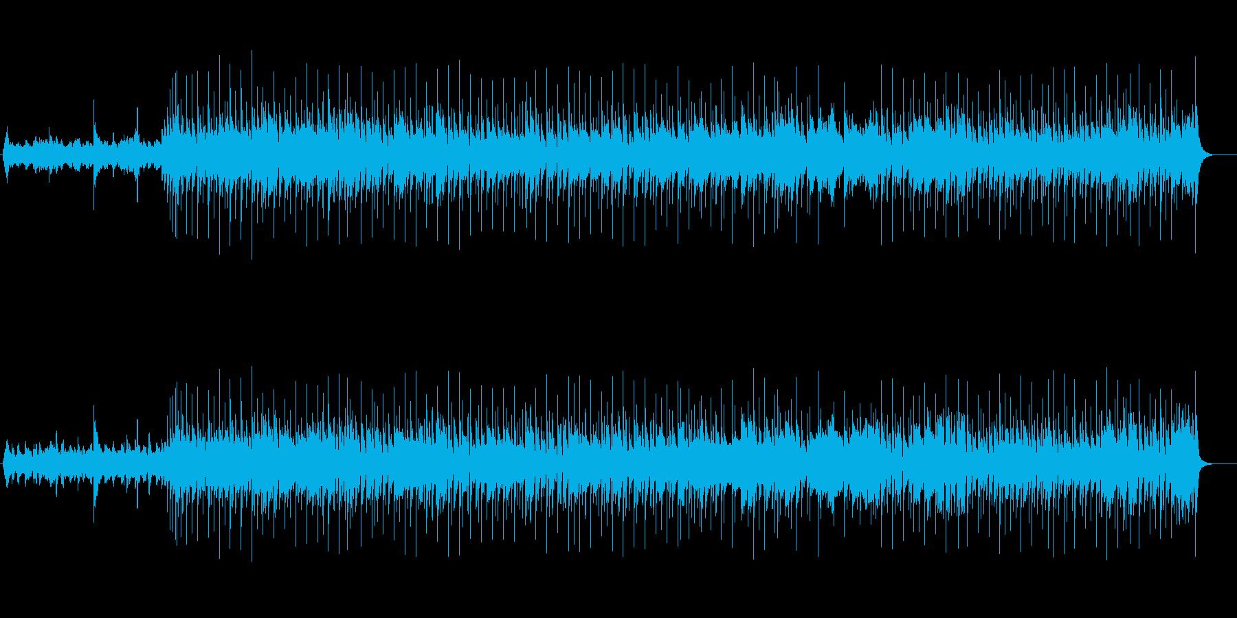 ノスタルジックなミディアム8ビートの再生済みの波形