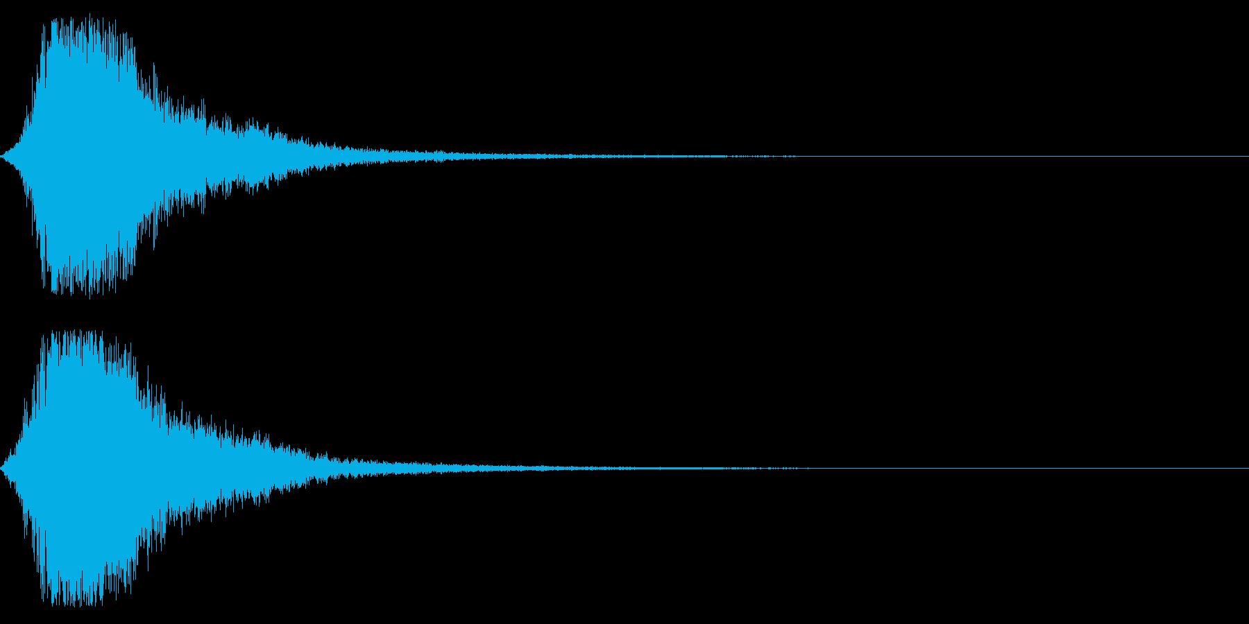 シャキーン☆オーケストラヒット!1bの再生済みの波形