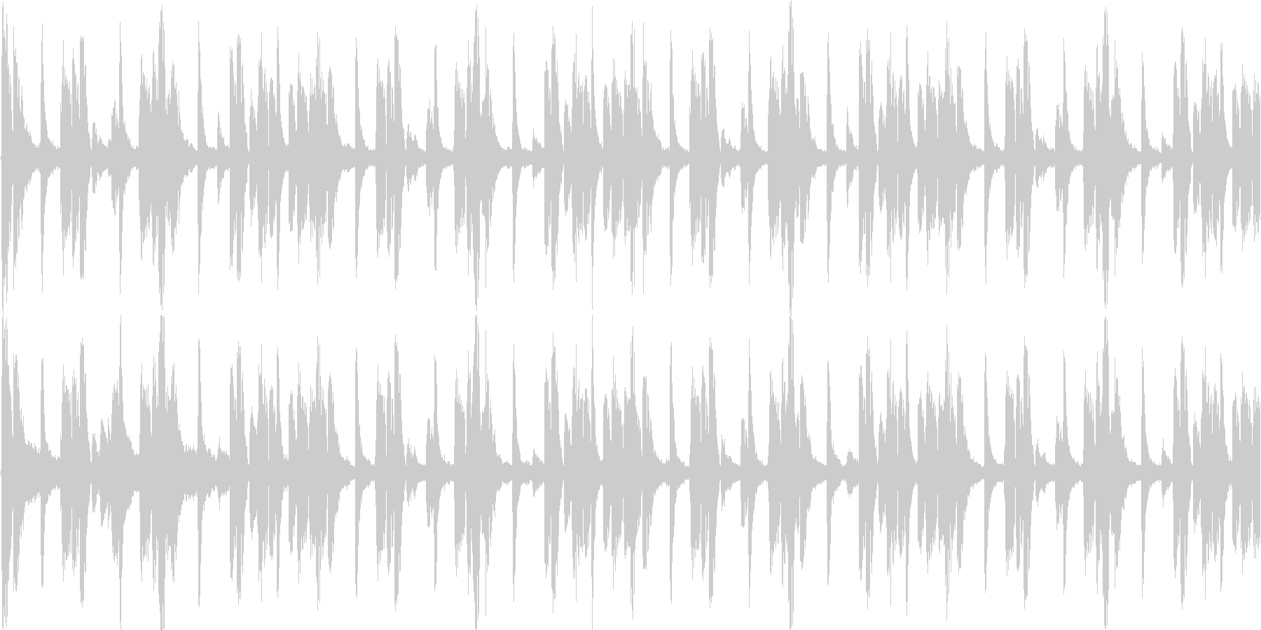ヒップホップを感じる楽曲です。の未再生の波形