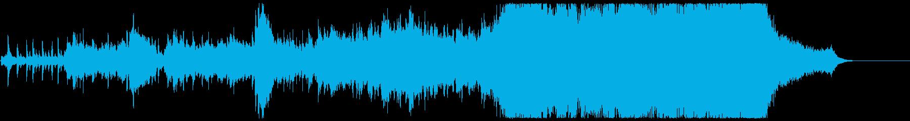 【1分版】アップテンポな壮大ポップオーケの再生済みの波形