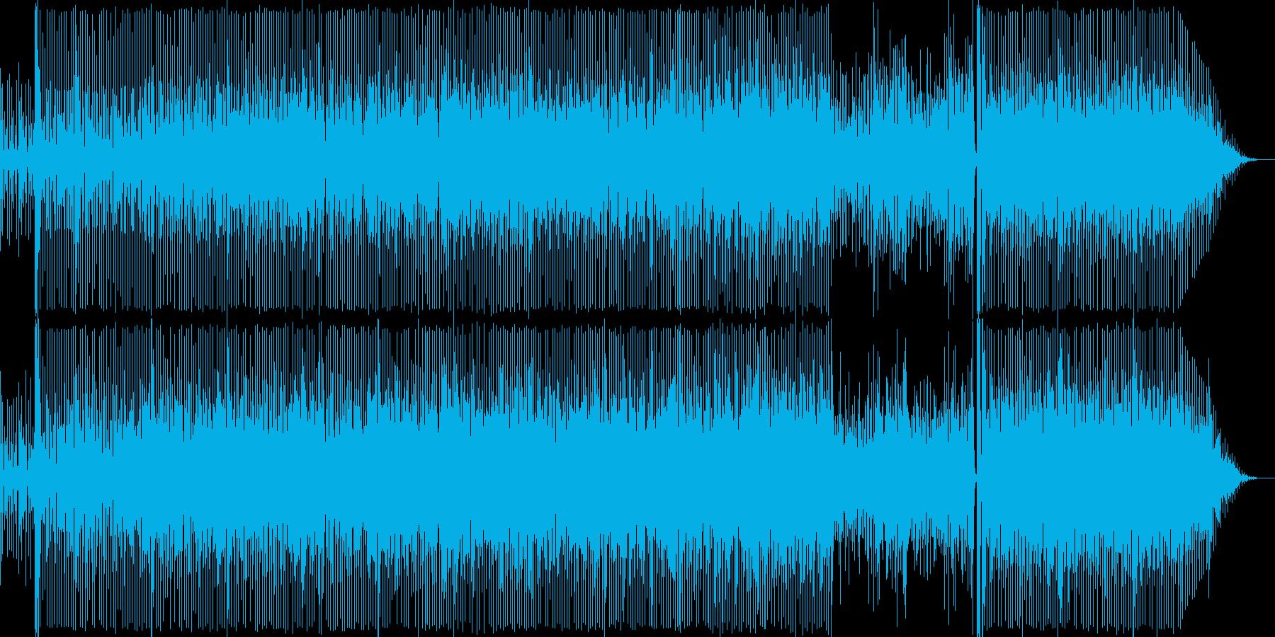 サンバのリズムと鮮やかな旋律が心地よい…の再生済みの波形