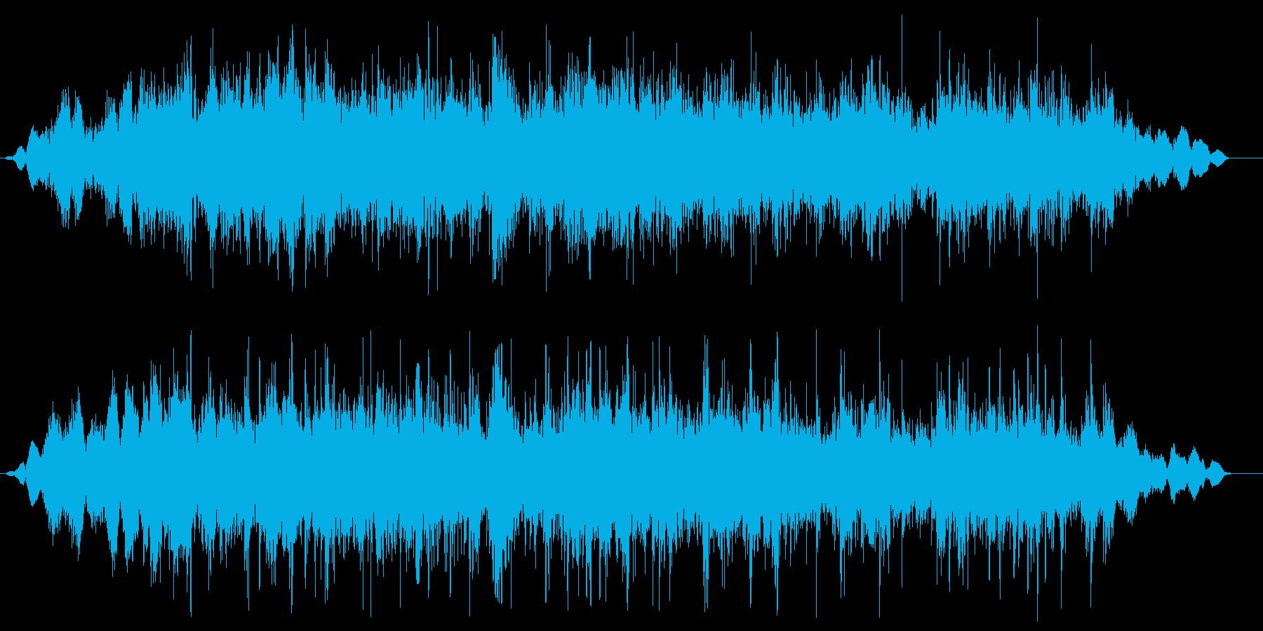 ジャー(流し台の音02)の再生済みの波形