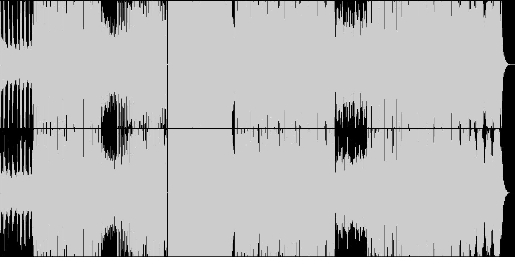 女性ボイスによるカワイイEDMピアノメロの未再生の波形