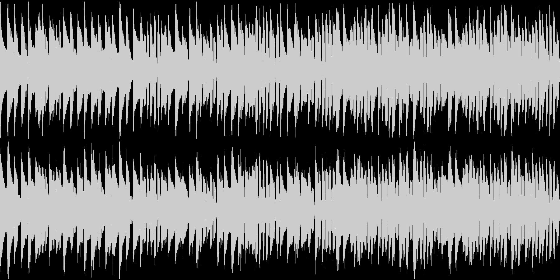 ハープシコードのBGM(ループ)の未再生の波形