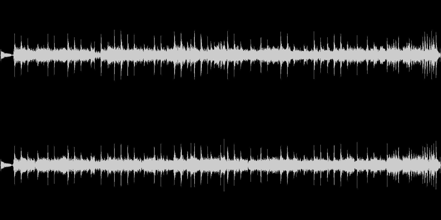 久々に投稿します★緊迫感の曲です。創っ…の未再生の波形