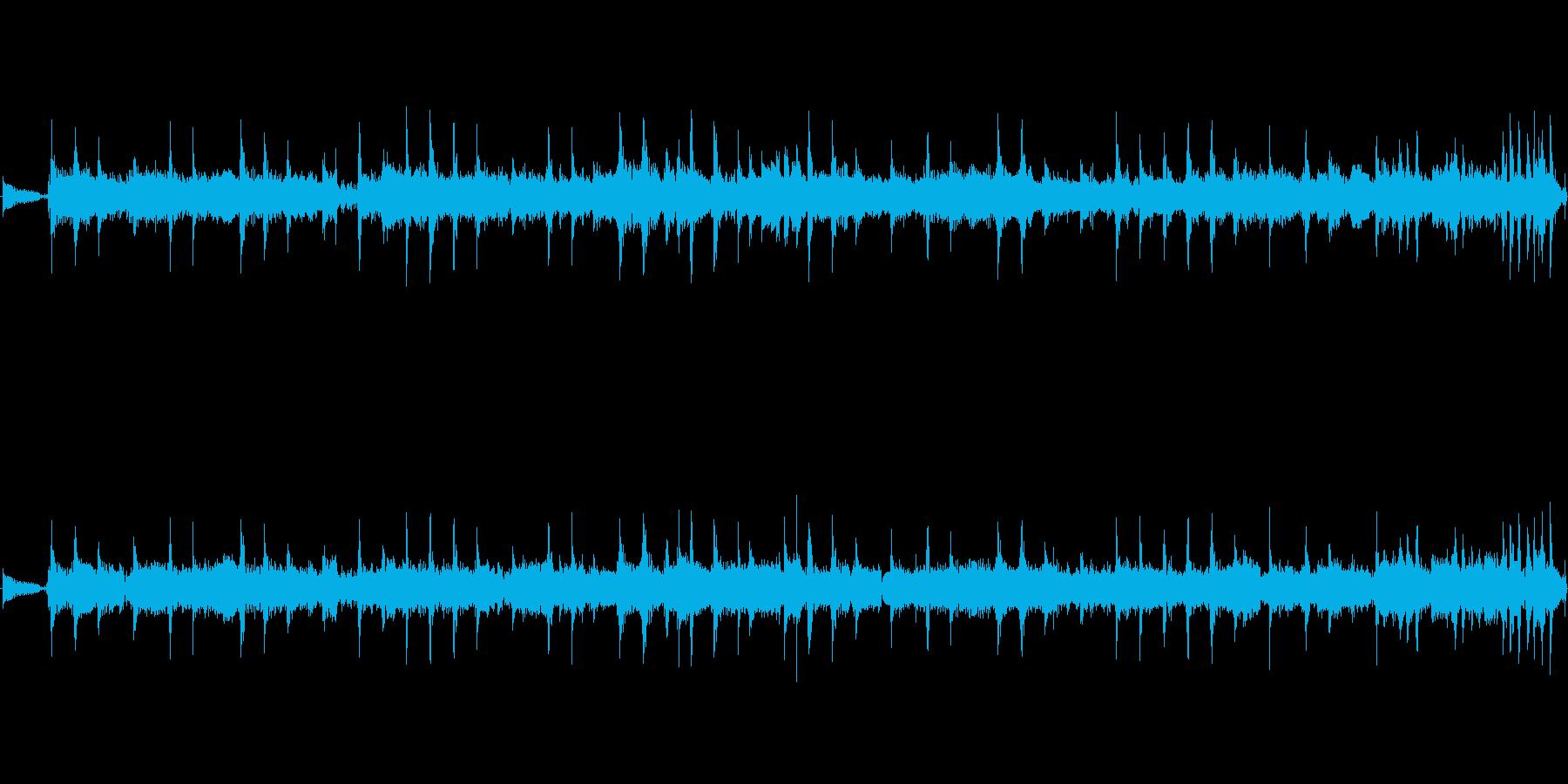久々に投稿します★緊迫感の曲です。創っ…の再生済みの波形