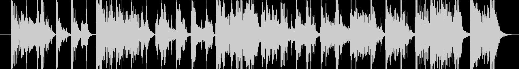 15秒CMサイズの7 ご陽気な曲です。の未再生の波形