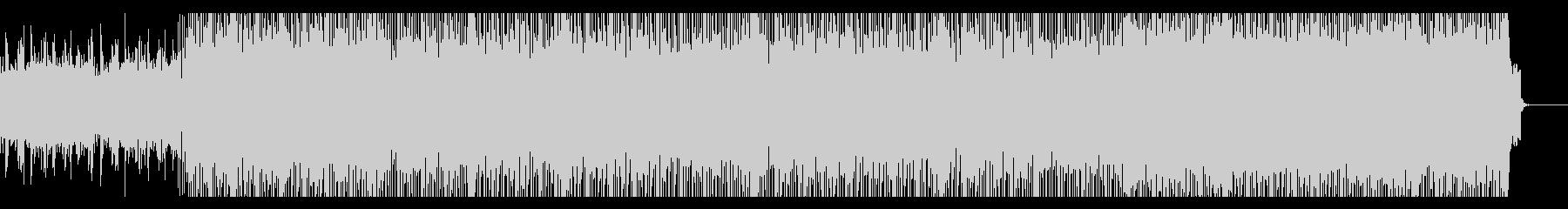 レトロ・フューチャーなインストの未再生の波形